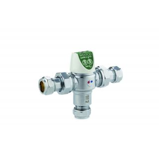 Thermostatic Mixing Valves - 22mm Thermostatic Mixing Valve