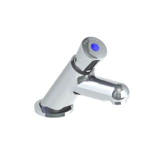Non Concussive - P875 Time Delay Basin Tap including hot & cold indicies