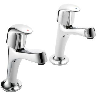 Haze - High Neck Kitchen Tap Pair