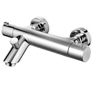 Haze - Wall Mounted Bath Shower Mixer with Shower Kit