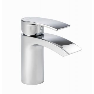 Lamina - Mono Basin Mixer including Click Waste
