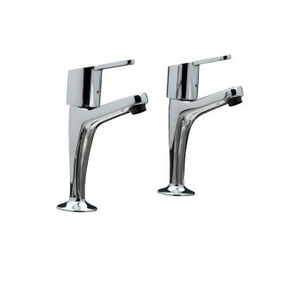 Araya - High Neck Kitchen Tap Pair