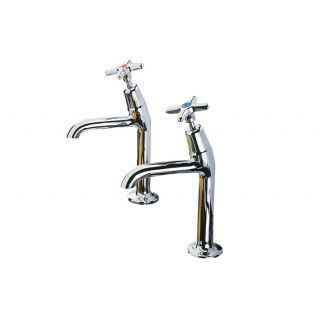 Cross Top - 159 High Neck Kitchen Tap Cold