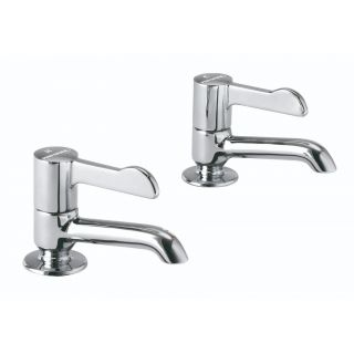 Healthcare - Long Nose Basin Tap Pair